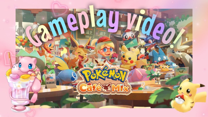 Pokemon Cafe Mix Nintendo SwitchGameplay!